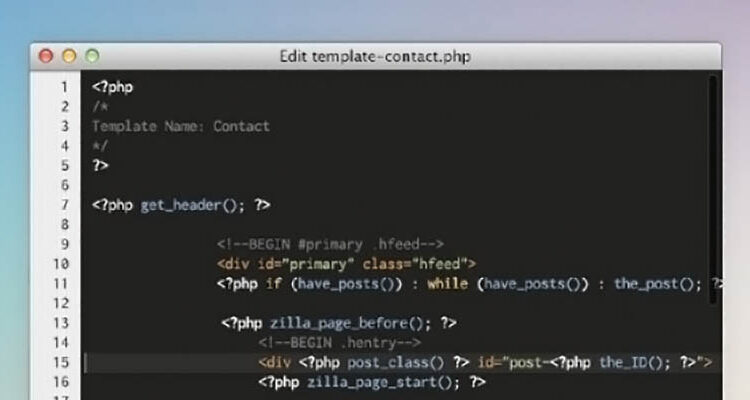 Code editor app